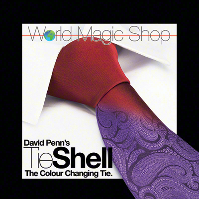 Tie Shell (The Color Changing Tie) By David Penn,Magic Tricks