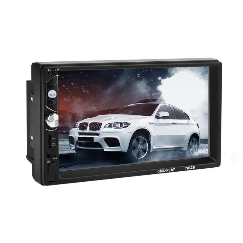 VODOOL 7 pouce Grand Écran 2Din Bluetooth Voiture Stéréo MP5 MP3 Musique Audio Lecteur Vidéo FM Radio avec Télécommande accessoires de voiture