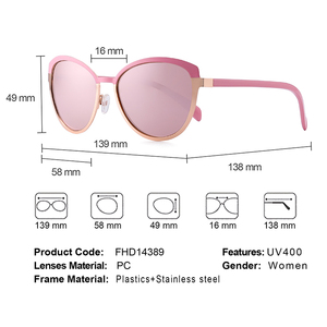 Image 5 - MATIC Pink Vintage Retro Pilot Driving Car Gradient Sunglasses For Womens Fashionable Ladies Makeup Cats Eye Sun Glasses Eyewear