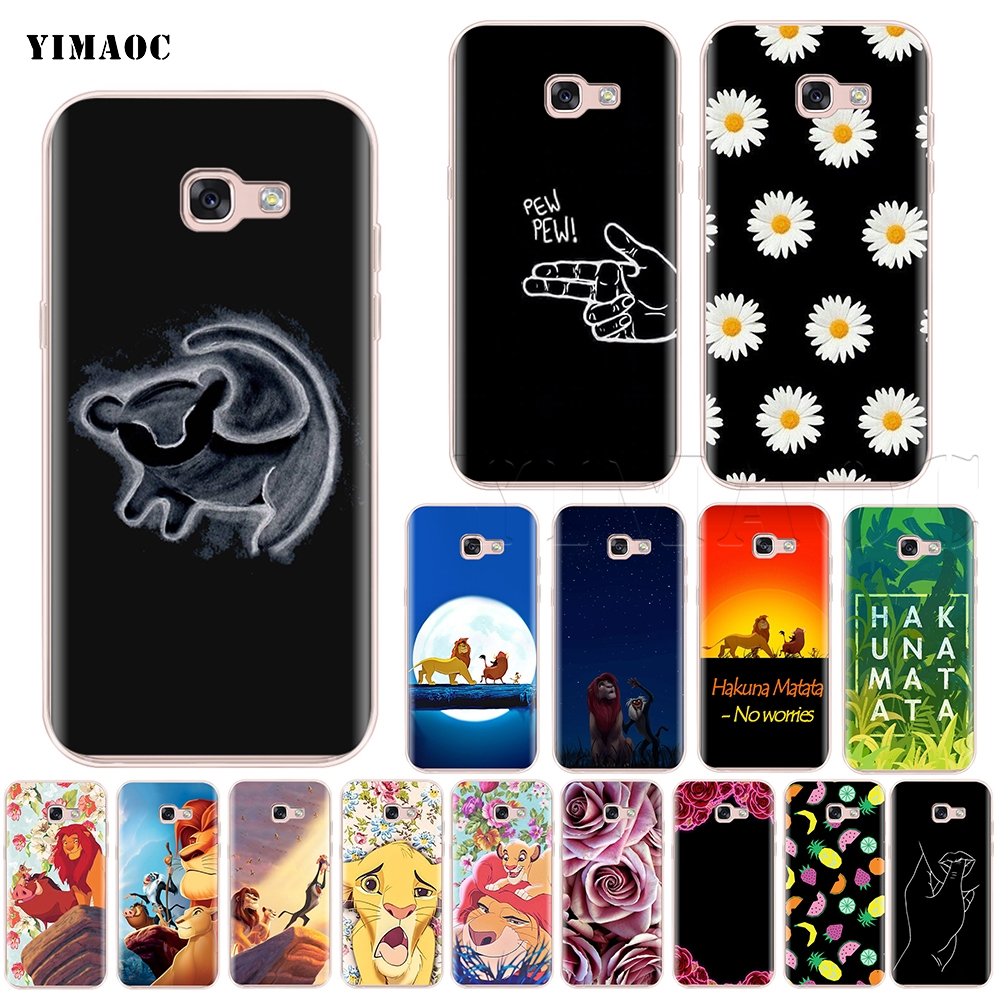 3 Samsung Galaxy S9 Case Note 8 Lion King Phone Cases