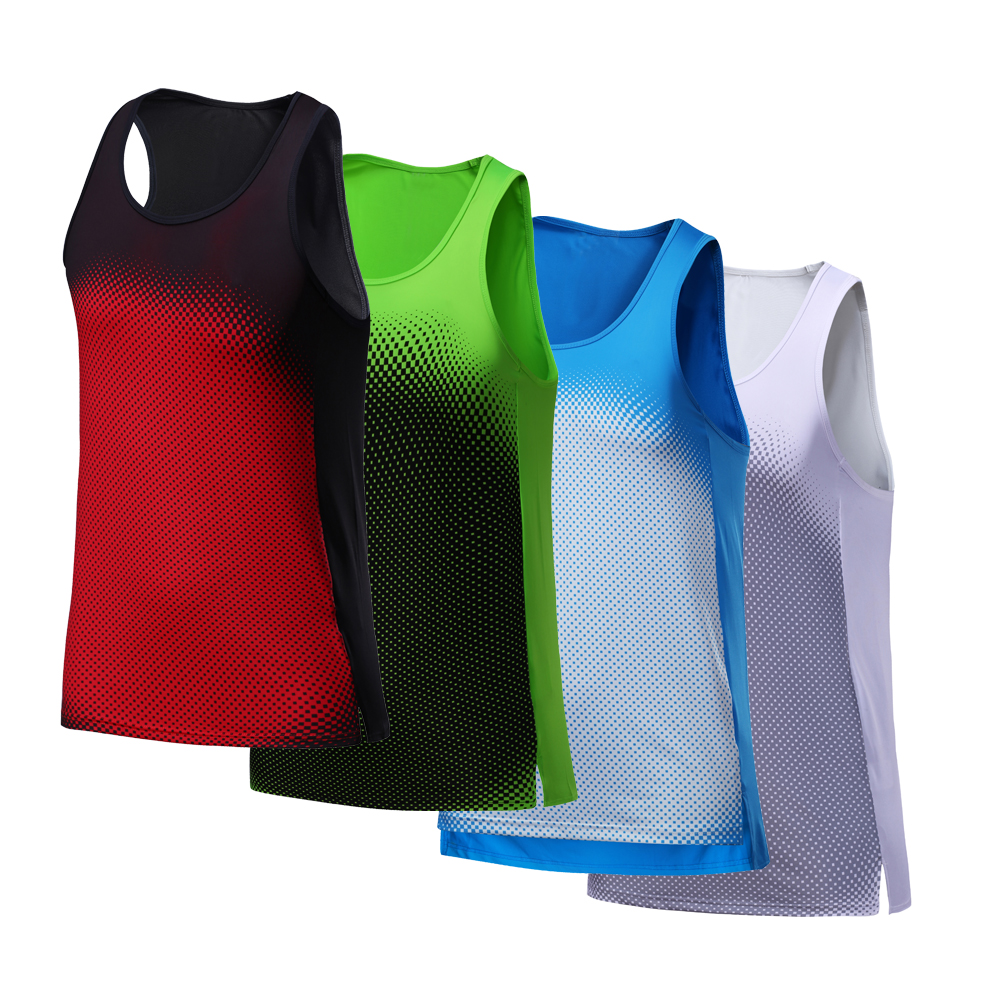 Vest Men Running Sexy Exercise Workout Sleeveless Top Sports Vest Men Top Singlet Fitness Dry Quick Men Running Yoga Tshirts цена