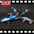 X-wing fighter modelo de bloques de construcción ladrillos juguetes educativos caliente súper alas educación diy juguetes regalos de navidad