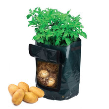 Garden Potato Grow Bag Vegetables Planter with Access Flap for Harvesting ~ Eco-friendly Waterproof