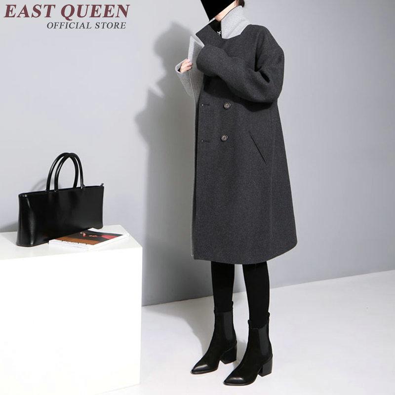 Coat Dames De Femmes Kk1834 vent Mode H Collar Couture Élégant Turn Trench 1 down Pour Coupe vxFpERwq