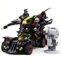 Legoe Batman 07077 1496 Stucke Marvel Super Heroes Original Film Die Ultimative Batmobil Bausteinziegelsteine Spielzeug Kompatib