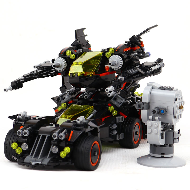 Legoe Batman 07077 1496 Stucke Marvel Super Heroes Original Film Die Ultimative Batmobil Bausteinziegelsteine Spielzeug Kompatib lepin 06058 ninja serie die tempel der ultimative ultimative waffe modell bausteine set kompatibel 70617 spielzeug fur kinder