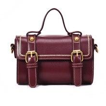 2019 Women Bag Designer Retro Double Belts Handbags Shoulder Crossbody Bags Ladies Messenger  New High Quality LC07