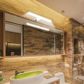 светодиодный зеркальный свет освещение шкафа в ванной макияж зеркало свет тщеславие свет настенные светильники Ip44 нейтральный белый длина