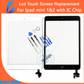 LL TRADER Replacement for ipad MINI 1&2 Digitizer Touch Screen Front Panel Glass Assembly Adhesive Self-repair KIT Free Shipping