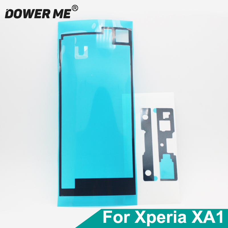 Dower Me Front <font><b>LCD</b></font> Display Back Battery Cover Waterproof Adhesive Sticker Tape For <font><b>SONY</b></font> Xperia XA1 G3121 G3125 <font><b>G3112</b></font> image