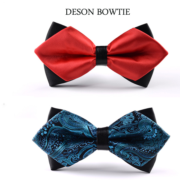 Mens Ascot Tie  Scarf White Paisley Cravat Silk Woven A19