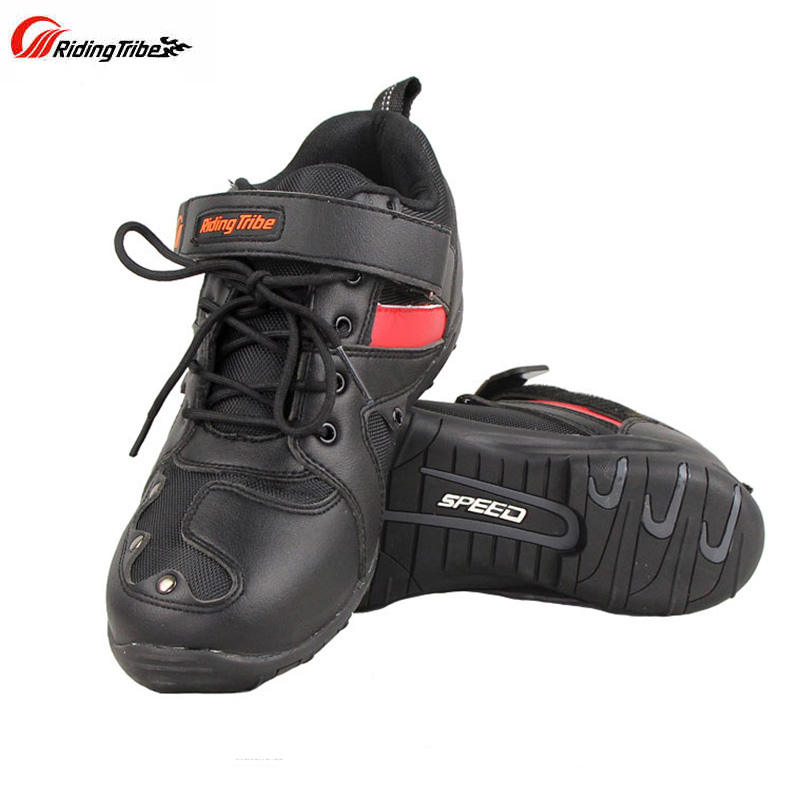 New Riding Tribe Motorcycle Racing Shoes Off road Scooter Motorbike Motocross Riding Boots Motos Botas Motocicleta
