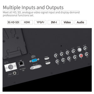 Image 5 - Seetec P173 9HSD CO 17.3 אינץ IPS 3G SDI HDMI שידור צג עם AV YPbPr לשאת על LCD מנהל צג עם מזוודה