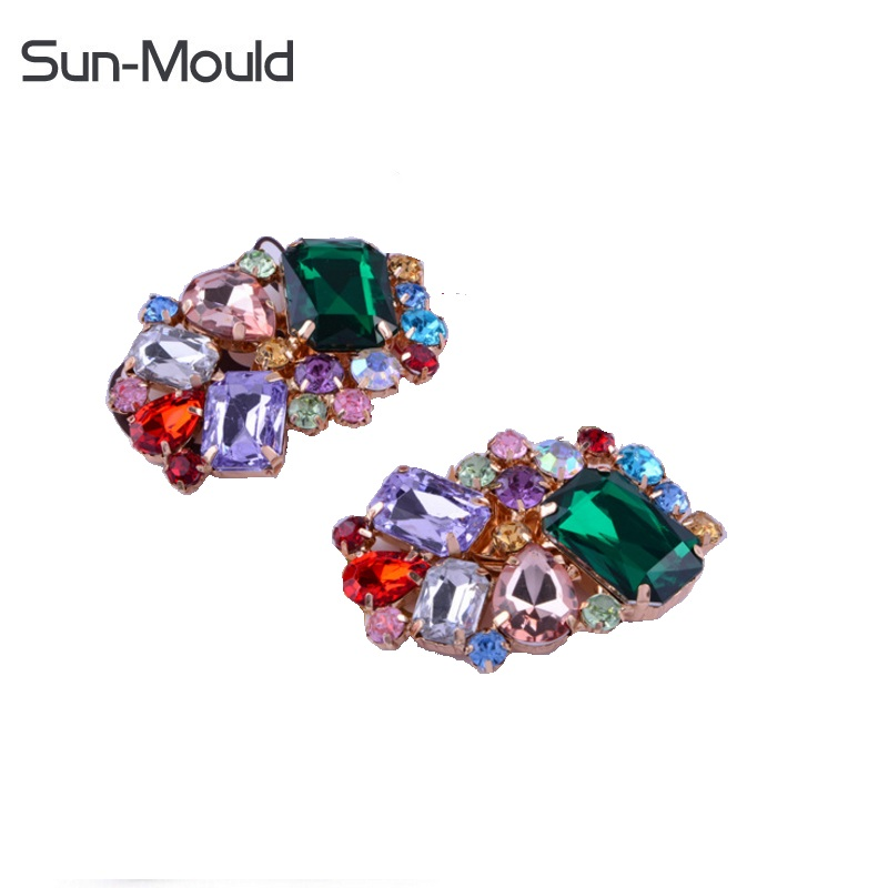 NEW shoes flower charms daily shoes high-heel pumps accessories crystal diamond shoe clips wedding decoration buckle 50pairs/lot 2pcs one pair shoes flower charms daily shoes high heel pumps fashion bag crystal diamond shoe clips wedding decoration buckle