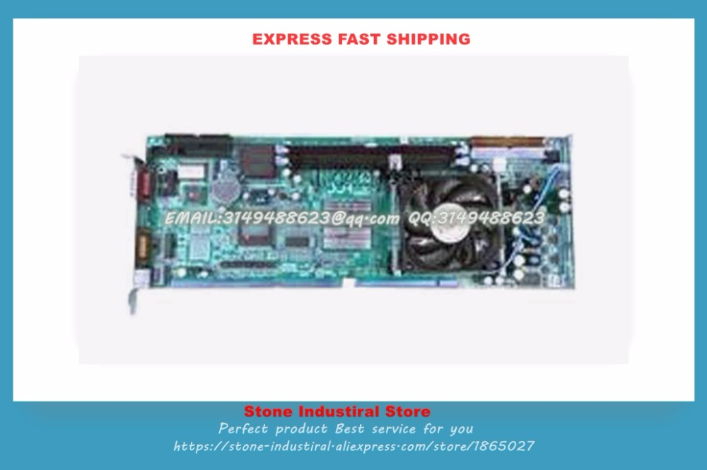 PCA-6006 Rev.B1 double baffle PCA-6006LV6001-T  Industrial Motherboard 100% test good quality  цены