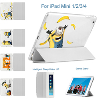MTT PU Lederen Flip Case Voor Apple iPad Mini 1 2 3 4 Smart Case Cover Funda Retina Auto Slaap voor iPad mini 4 7.9 ''inch Case