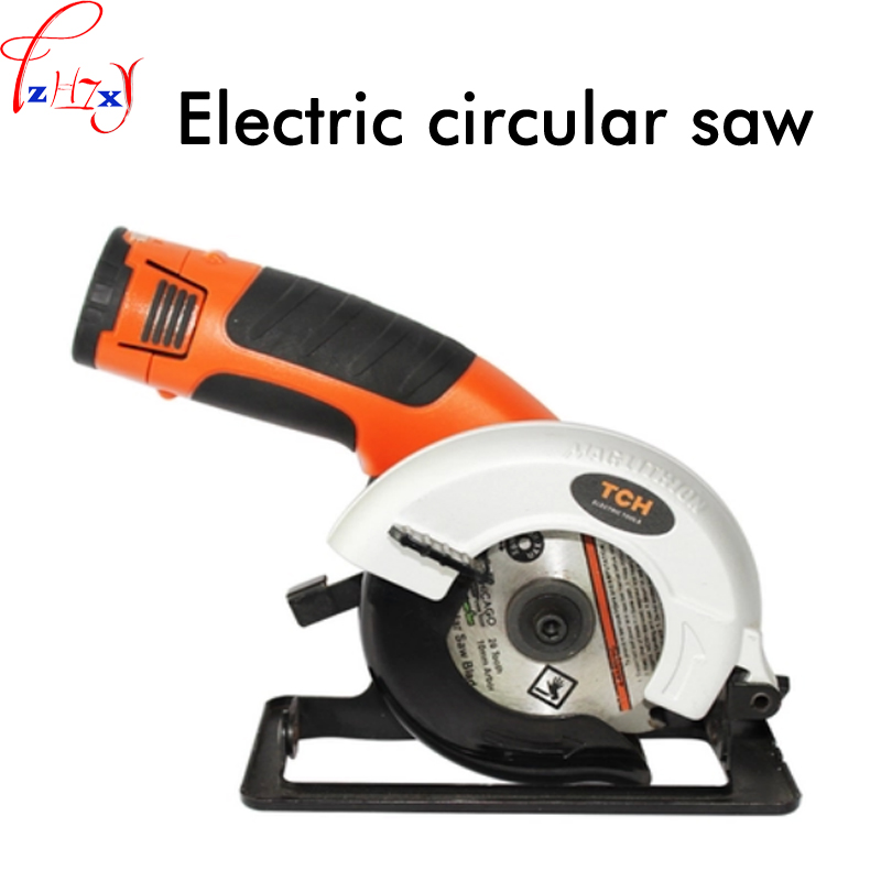 Household mini electric circular saw DIY woodworking cutting machine lithium electric woodworking circular saw 12V 1PC jig saw electric woodworking curve saw power tools multifunction chainsaw hand saws cutting machine wood 220v