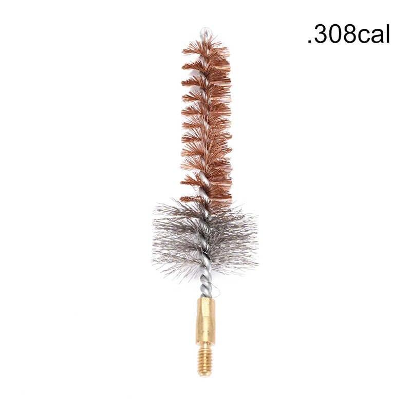 1 pc. 223cal/. 308cal Fosforbrons Kamer Borstel, gun Schone Borstel, gun Cleaning Kit
