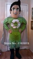 MASCOT hero super man mascot costume custom fancy costume cosplay kits mascotte fancy dress carnival costume