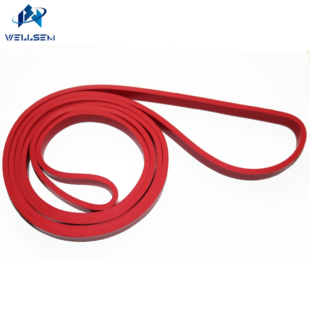 Calidad caliente Látex Crossfit Bandas de resistencia Fitness Body Gym Power Training Powerlifting Pull Up Red para venta al por mayor freedrop