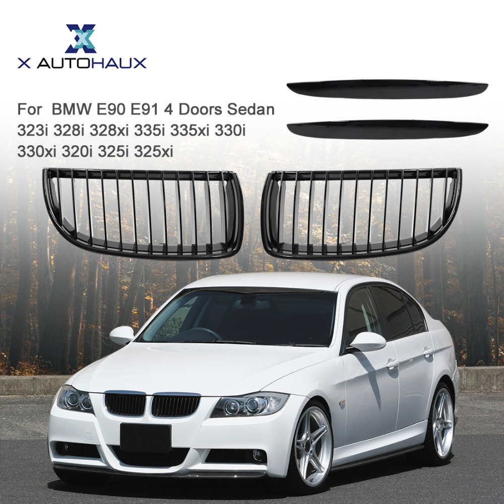 Bmw Xi Price: X AUTOHAUX Front Bumper Kidney Racing Grill Grille For BMW