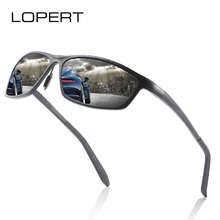 LOPERT Aluminum Magnesium Men's Sunglasses Polarized Men Coating Mirror Driving Glasses oculos Male Eyewear Goggle For Men aluminum magnesium polarized sunglasses men sports sun glasses night driving mirror male eyewear accessories goggle oculos