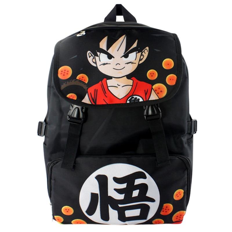 New Dragon Ball Z Schoolbag Dbz Cosplay Backpack Super Saiyan Anime Cartoon Shoulders Travel Bag Best Gifts Free Shipping
