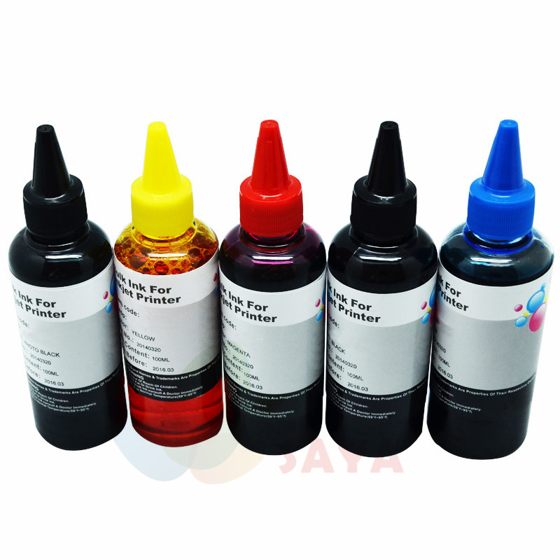 500ml PGI450 CLI451 CISS refill cartridge Dye Ink For Canon PIXMA MG5440 IP7240 MX924 MG5540 MG5640