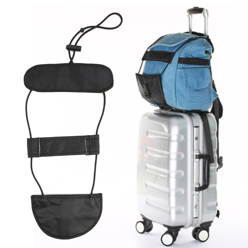 THINKTHENDO Black Bundle Band Durable Travel Luggage Bag Suitcase Belt Backpack Carrier Strap Carry New Casual Bag Accessories
