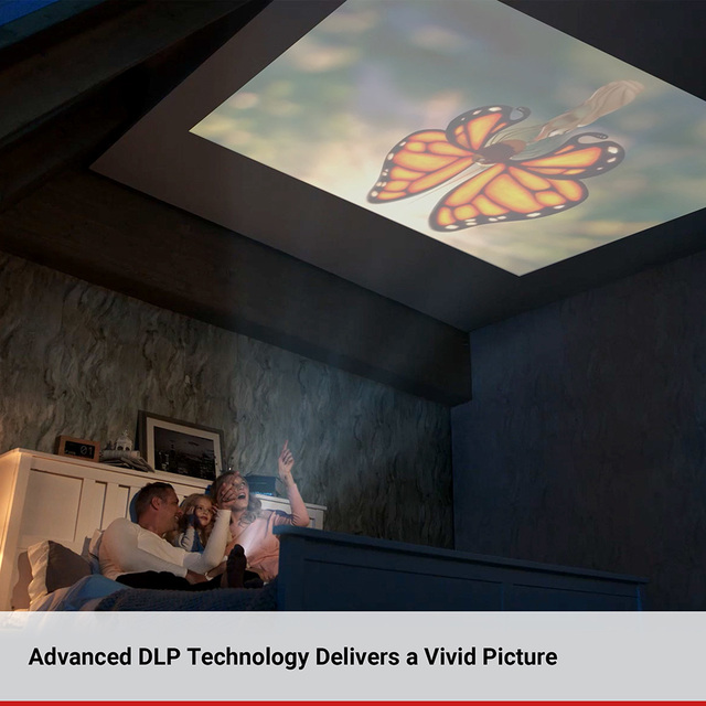 Anker Nebula Capsule Smart Portable Wi-Fi Mini Projector Pocket Cinema 3