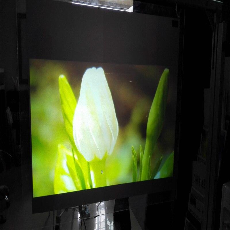 1.52x3 m Double Côtés Noir Arrière Film De Projection pour Des Présentations Des