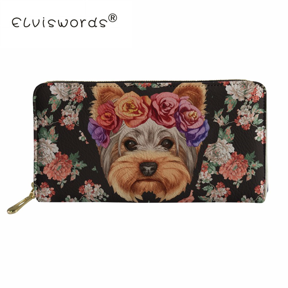 Thikin Women Card Holder Corgi Dog Print Female Passport Cover Pu Leather Credit Card Holder Lady Girls Travel Purses& Wallets Luggage & Bags Card & Id Holders