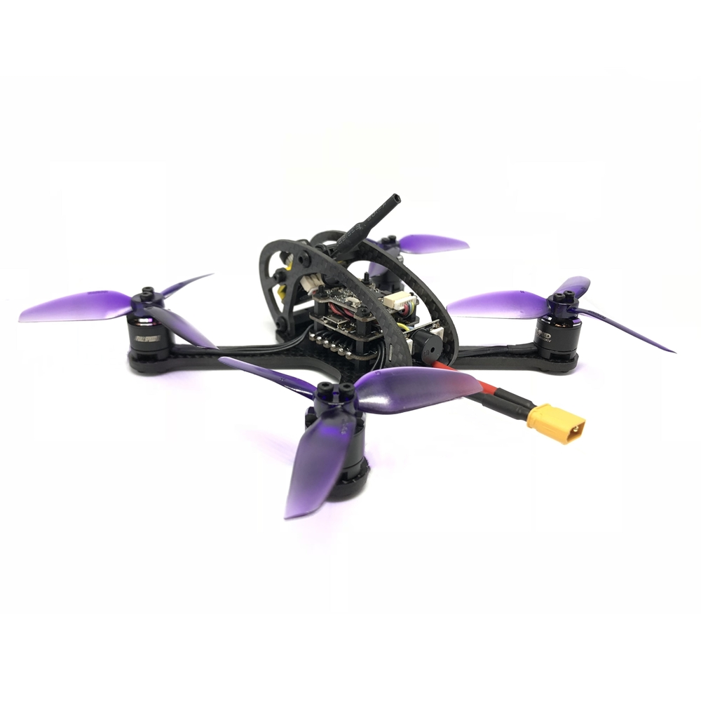 Leader3 130mm FPV Racing RC Drone Mini Quadcopter F4 OSD 28A BLHeli_S 48CH 600mW Caddx Micro F1 PNP / BNF for FRSKY FLYSKY caddx turbo micro f2 1 3 cmos 2 1mm 1200tvl 16 9 4 3 ntsc pal low latency mini fpv camera for rc models upgrade caddx f1 4 5g