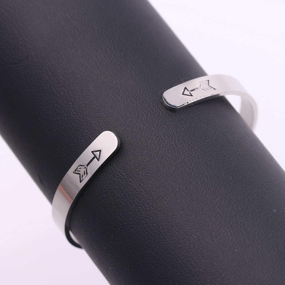 รอบสร้อยข้อมือแรงบันดาลใจ Keep Going กำไลข้อมือ Masculina สำหรับผู้หญิงกำไลข้อมือ Letter สร้อยข้อมือบวกเครื่องประดับ Charms