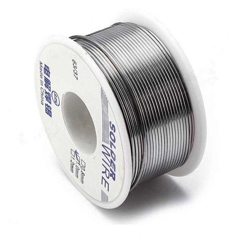 100g 63/37 0.6/0.8/1.0/1.2/1.8mm Pb Saldatura Wire Reel Saldatura Colofonia nucleo
