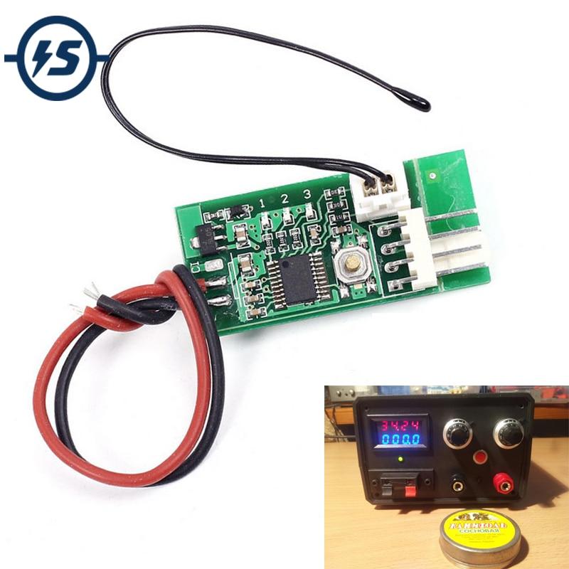 PWM DC 12v 3a PC CPU Fan Temperature Control Thermostat Speed Controller AU
