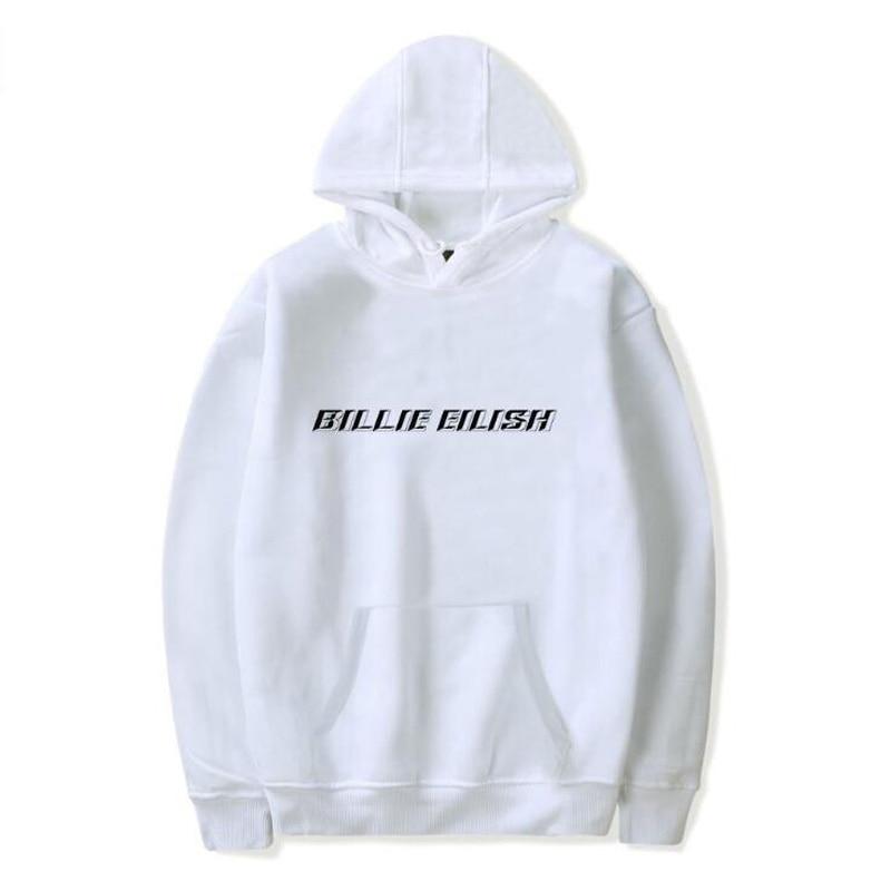 Billie Eilish Printed Womens Hoodies and Sweatshirts Moletom Feminino Harajuku Hip Hop Funny Hooded Jacket Male Tracksuit