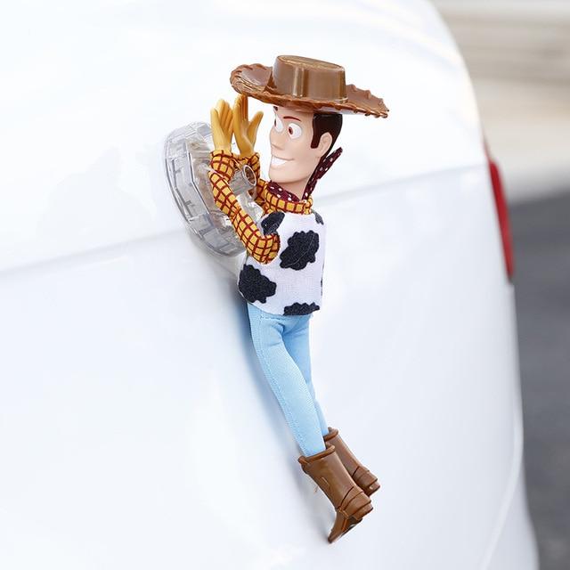 Hot Toy Story Sceriffo Woody Buzz Lightyear Auto Bambole di Peluche Giocattoli Al di Fuori Dello Appendere Giocattolo Carino Accessori Auto Auto Decorazione 20 /35/40 CENTIMETRI 3