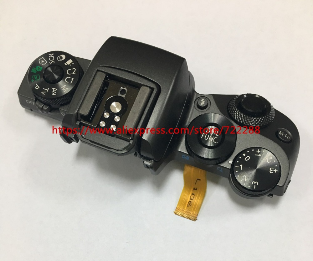 Electronics Stocks Hot Sale Repair Parts For Canon Eos 1000d Rebel Xs Kiss F Top Cover Mode Dial Power Switch Shutter Button Flex Cable