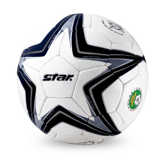Free shipping! High quality Match use Star Soccer Ball/Football Size 5 SB5175 STORM Gift: gas pin & net bag
