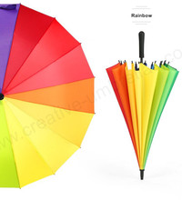 102cm straight auto open 16 metal ribs solid business mini golf umbrella windproof waterproof pongee wooden rain gear