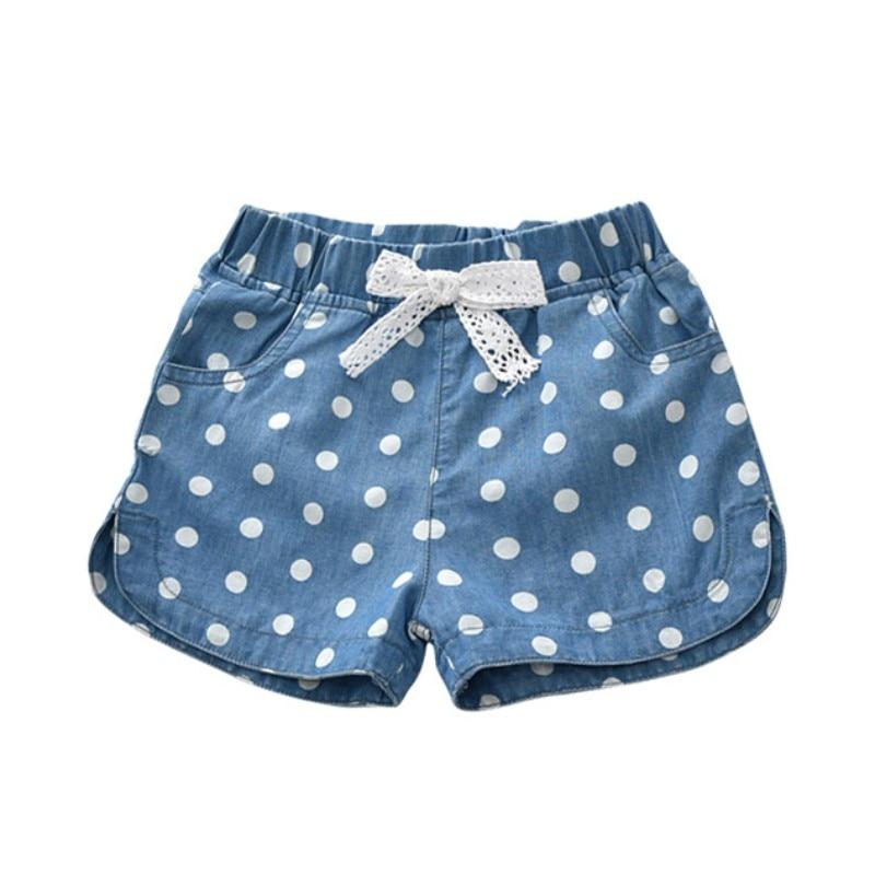 1-5T Summer Hot Sale Baby Girls Casual Short Pants 2018 Infant Kids Denim Hot Pants Children Fashion Shorts