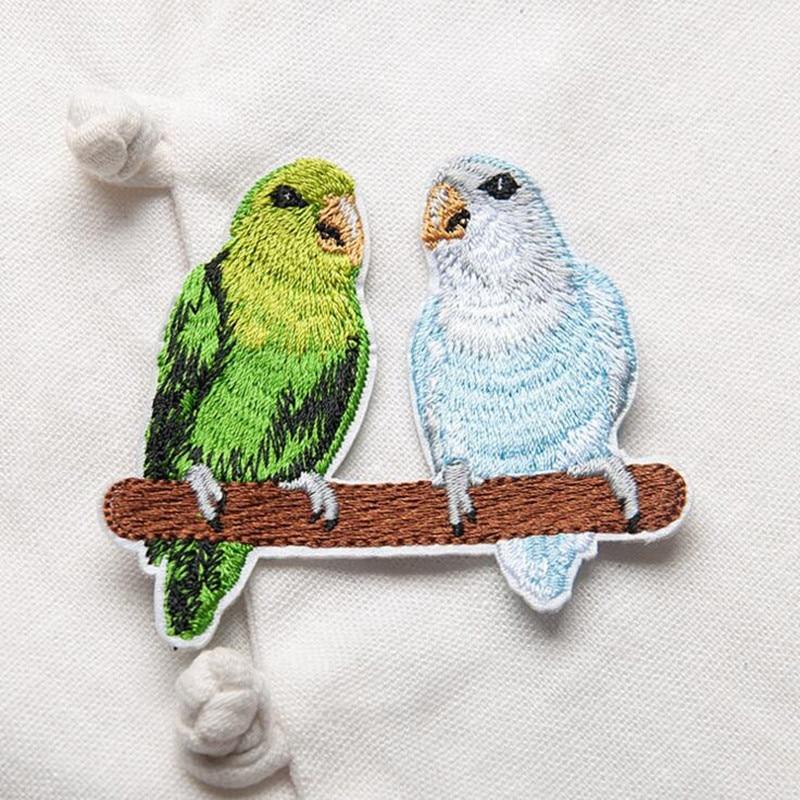 1 Piece κέντημα πτηνών patch για ρούχα - Τέχνες, βιοτεχνίες και ράψιμο - Φωτογραφία 6