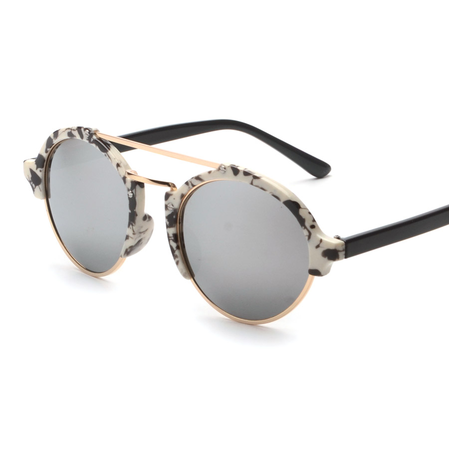 753d574d9f21 High Fashion Style Steampunk Goggles Womens Sunglasses Brand Designer  Vintage Round Glasses Mens Sun Glasses Shades Gafas sol-in Sunglasses from  Apparel ...