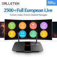 RK3128 IPTV Box 1G 8G Android TV Set Top Box HD IPTV Subscription 1 Year IUDTV