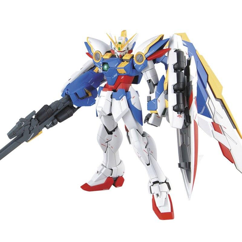 Anime chaud MG 1/100 aile Gundam zéro personnalisé valse sans fin Ver. Ka XXXG-00W0 Puzzle assemblé modèle Robot enfants Puzzle jouet