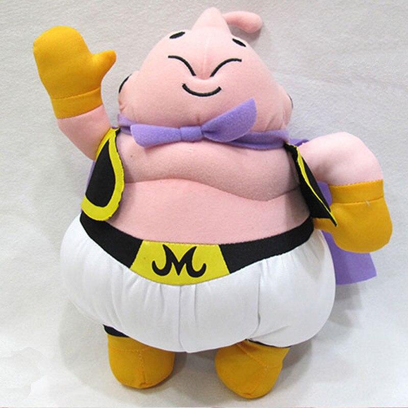 Cute Dragon Ball Majin Buu Plush Toy Soft Baby Doll Stuffed Doll Gift For Children 1335cm Free Shipping new hot 33cm dragon ball buu plush toys soft stuffed doll christmas gift
