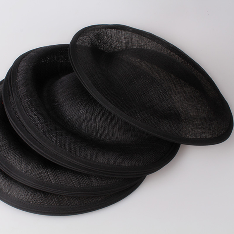 Черный для выбора 30 см Sinamay чародей база отлично подходит для изготовления Дерби fascinators партия шляпы коктейль шляпы шляп аксессуары