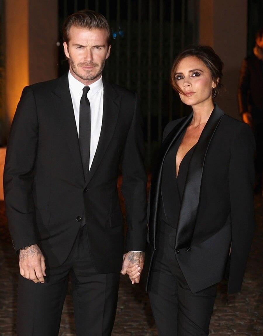 Famous Brand Mens Suits Wedding Groom 2 Pieces(Jacket+Pant) Slim Fit Casual Tuxedo Black Suit Male Men Suitcostume Homme Mariage