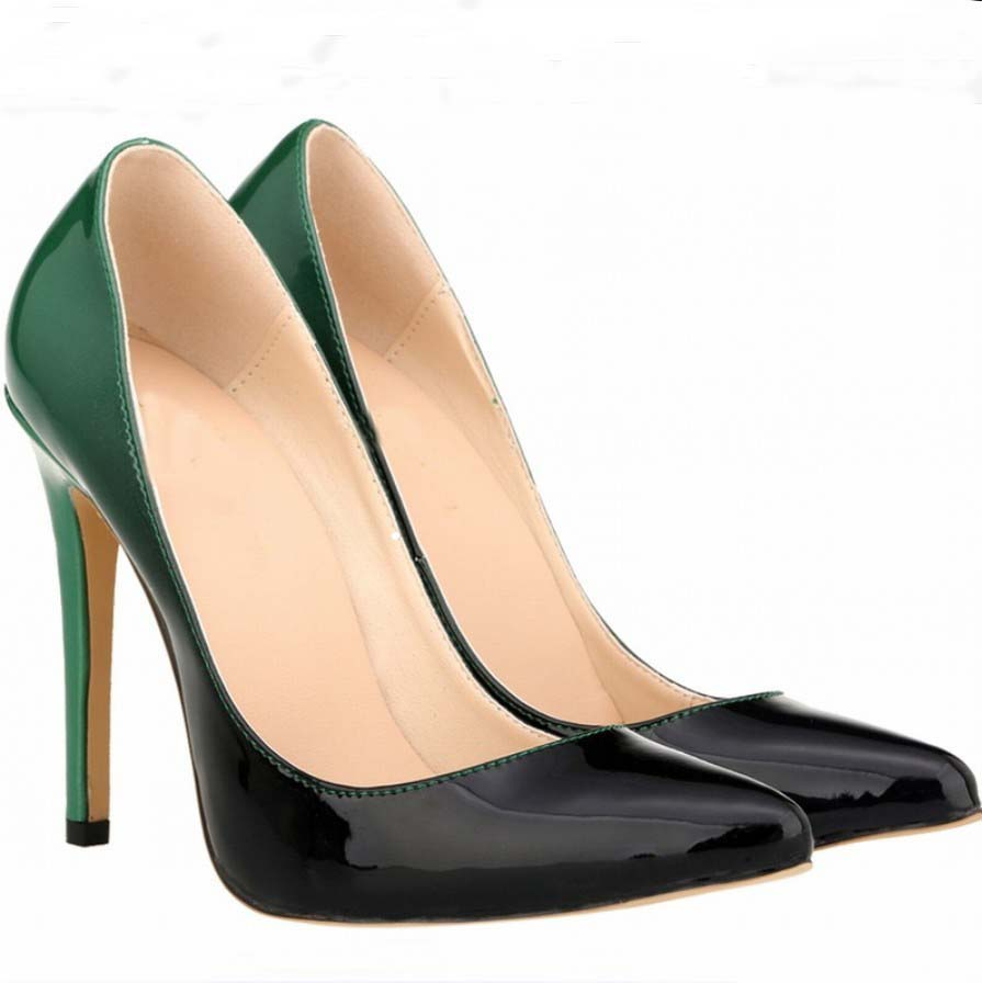 Wedding Cheap Prom Shoes online get cheap formal prom shoes aliexpress com alibaba group women sexy wedding party bridesmaid pumps court gradient patchwork contrast color pumps